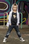 "Kids Shirt, schwarz ""royal skull"""